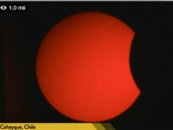 LIVE VIDEO. O eclipsa de Soare are loc duminica