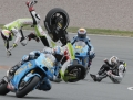 FOTOINFO - Accident grav la GP de motociclism al Germaniei