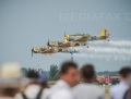 VIDEO | Acrobatii aeriene la BIAS 2017: Peste 200 de piloti si parasutisti, la Bucharest International Air Show. Intrarea este libera