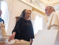 "Dancila, la intalnirea cu Papa Francisc: ""Sfintia Voastra, I am very glad for this opportunity"" 