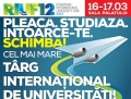 In week-end are loc cel mai mare targ international de universitati.