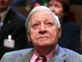 Fostul cancelar german Helmut Schmidt, internat la terapie intensiva
